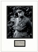 Field Marshal John French Autograph Display - First World War